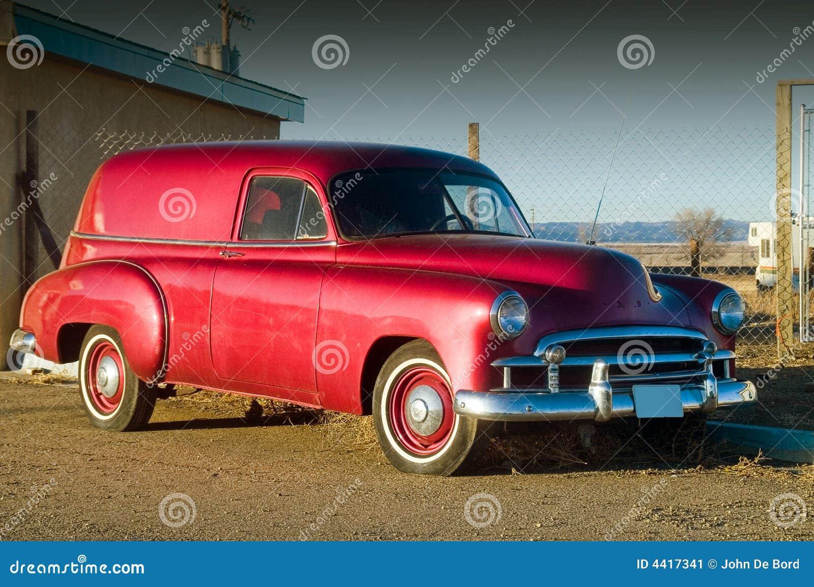 S Red Hotrod Panel Car
