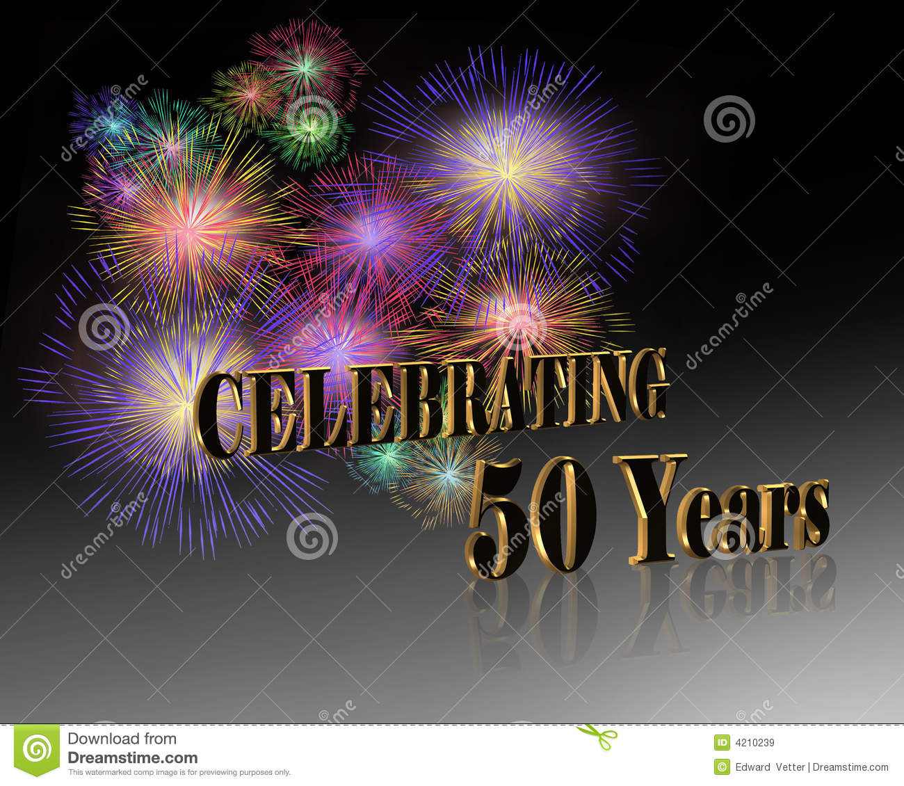Th anniversary celebration royalty free stock images
