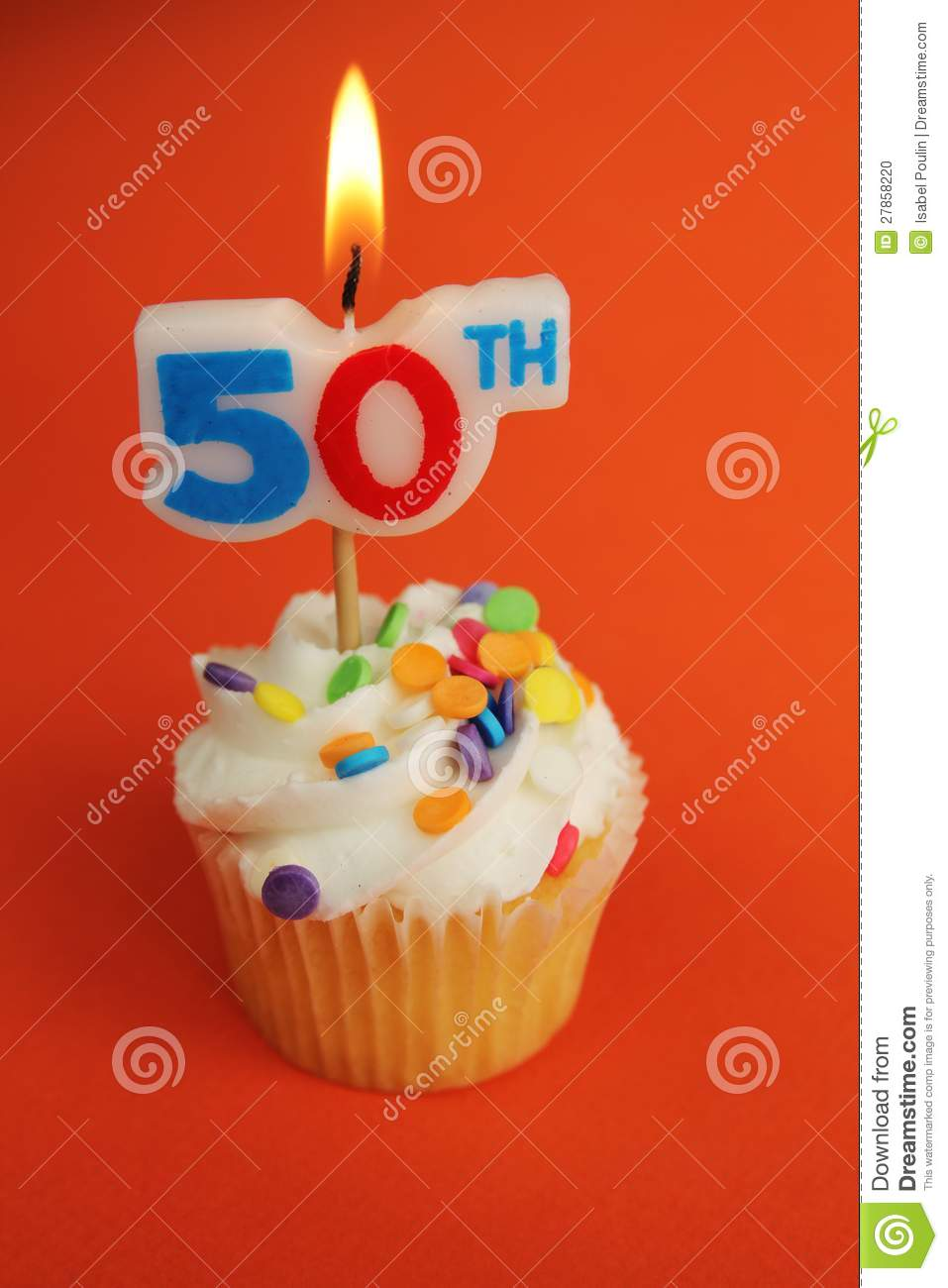 50th Birthday Stock Photo Image Of Frosting Decoration