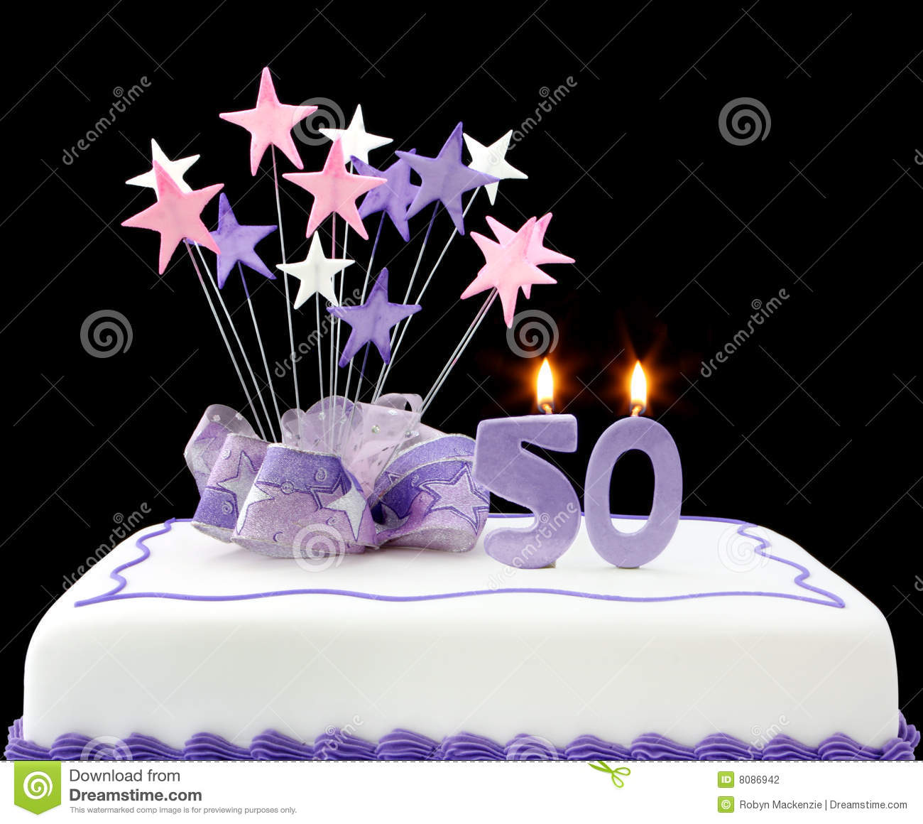 50th Cake Stock Photo Image Of Celebration Fiftieth 8086942