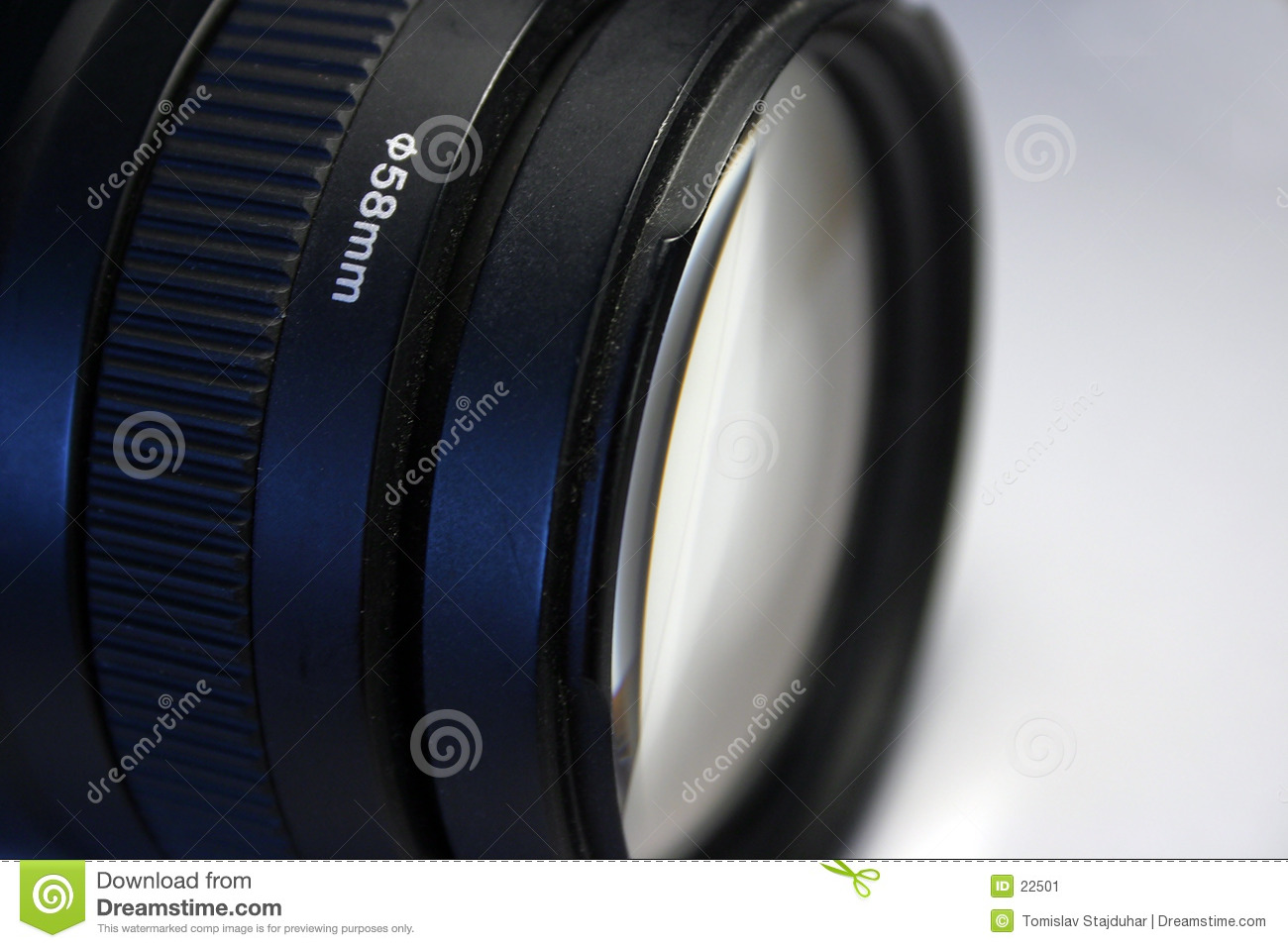 58mm Canon telephoto lens