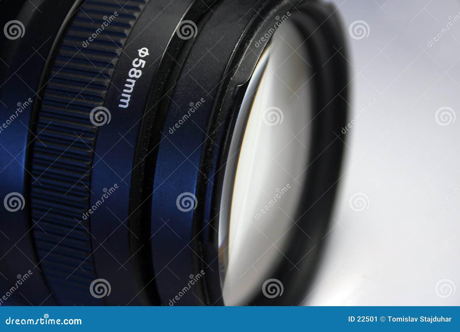 58mm soczewek kanonu telephoto