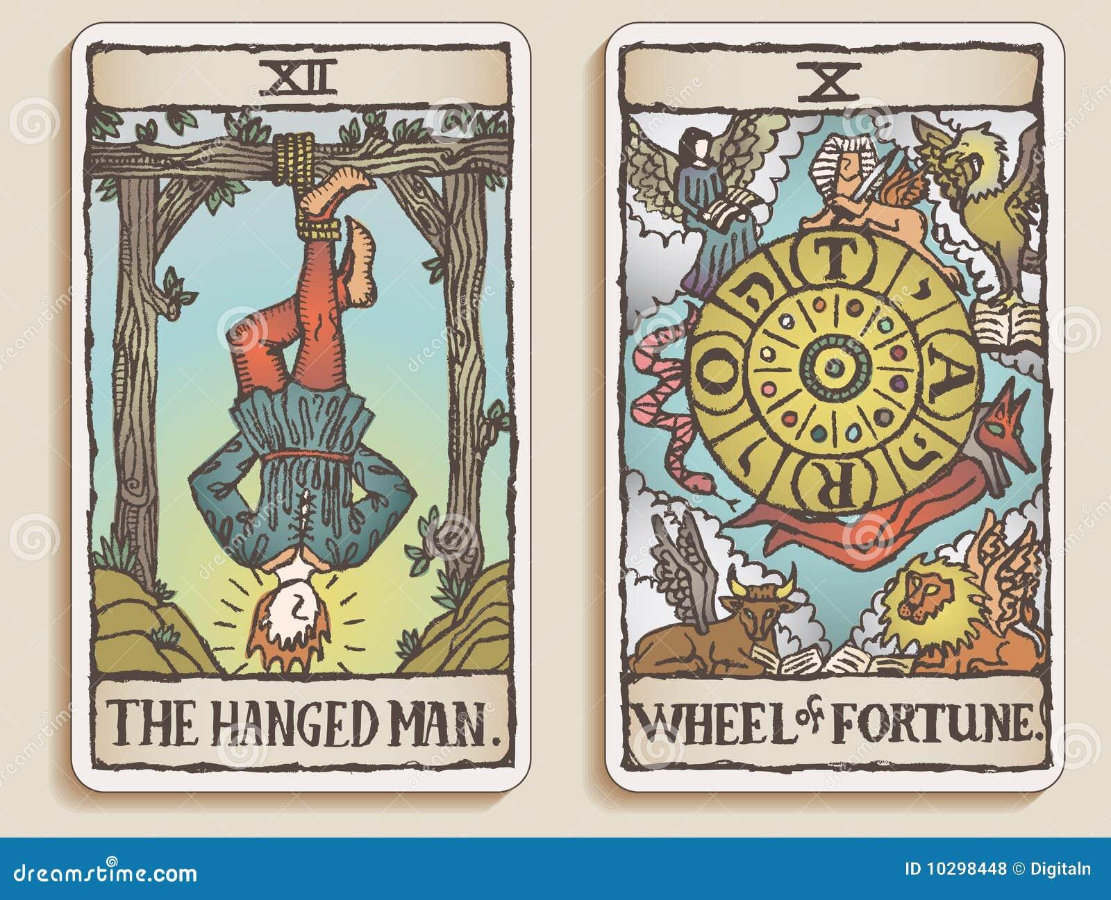 6 κάρτες tarot δύο β