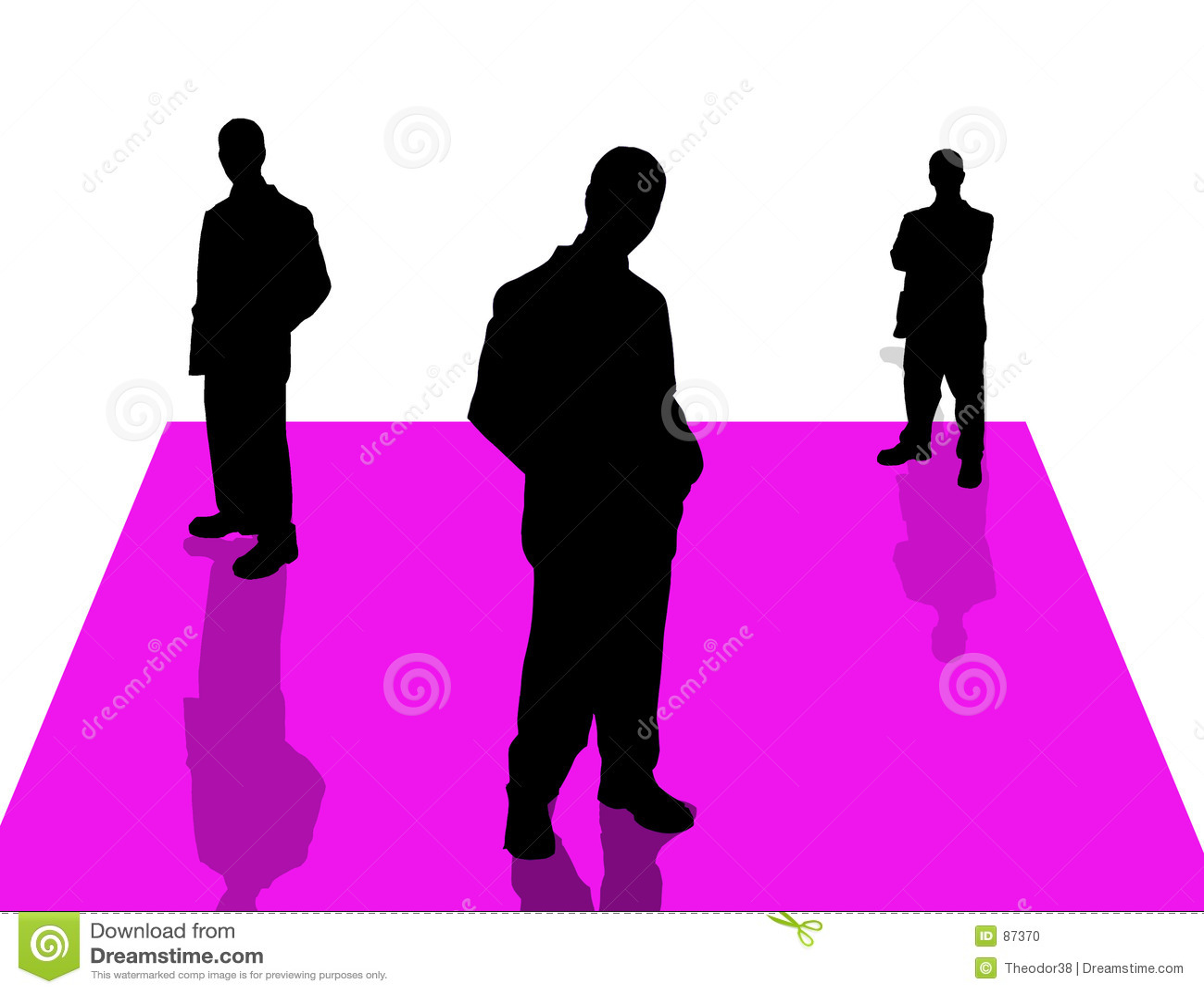 6 бизнесменов теней