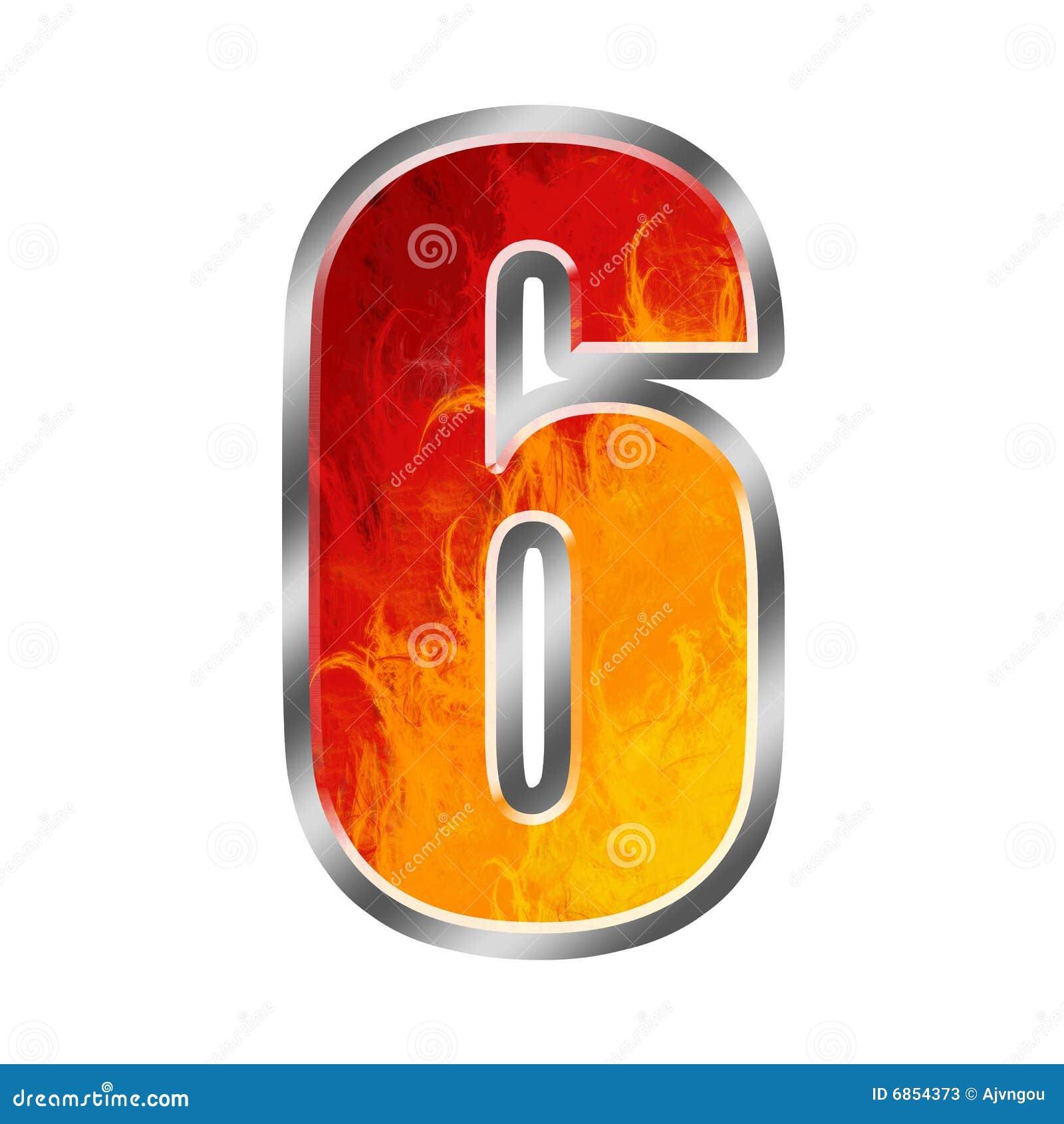 6 пламен 6 алфавита