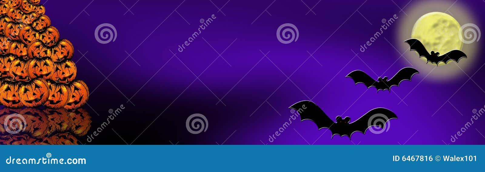 6 banner Halloween.