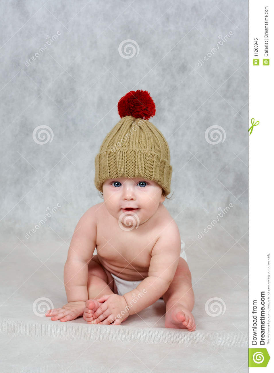 58c3f3fe52e 6 months old baby boy stock image. Image of winter
