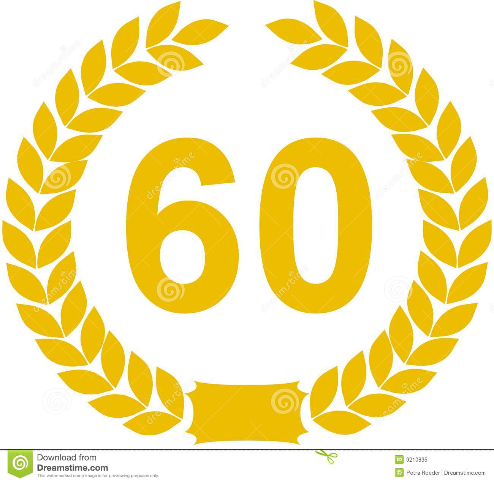 60 ans de guirlande de laurier