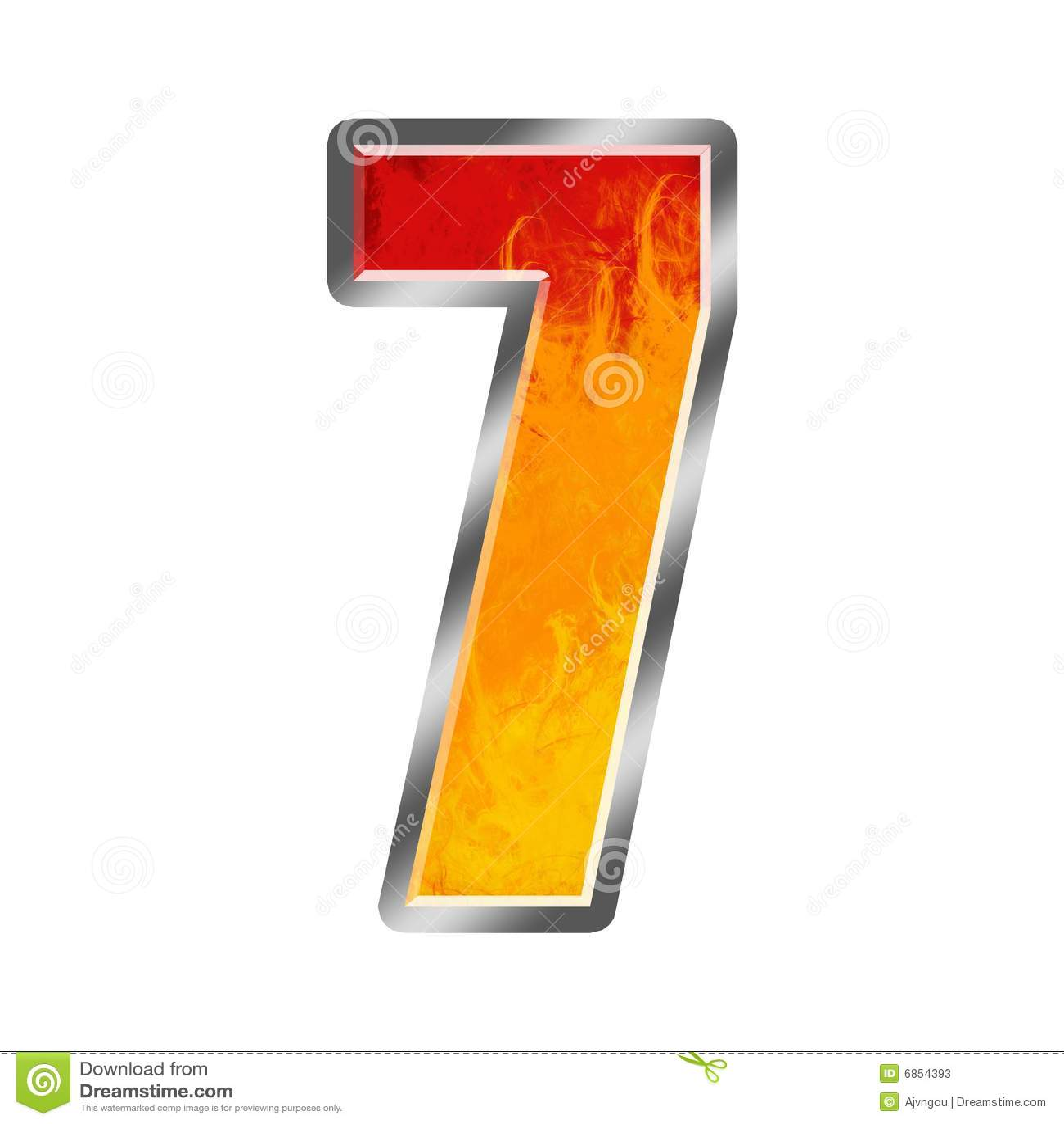 7 пламен алфавита 7