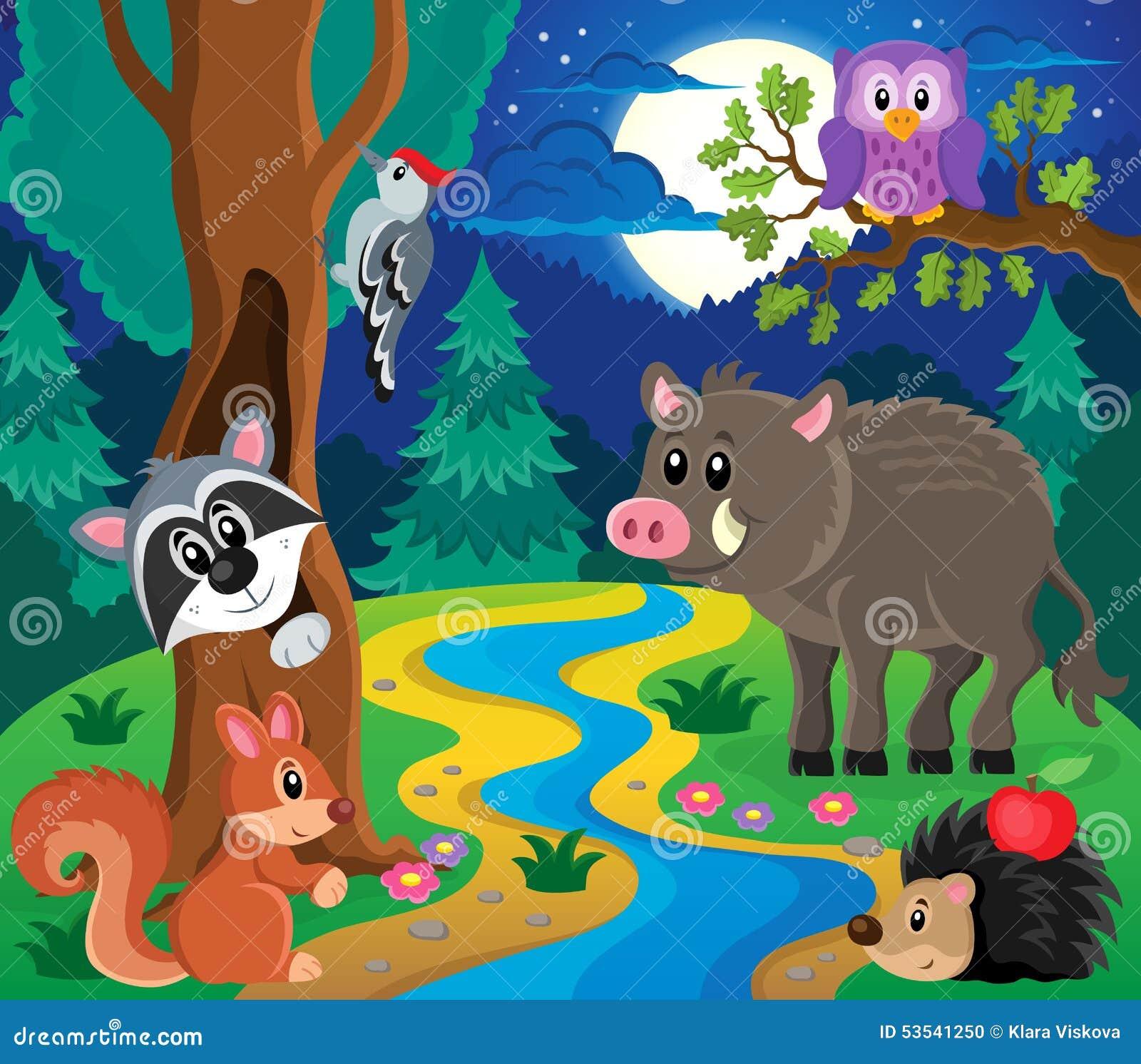 森林动物题目图象7图片