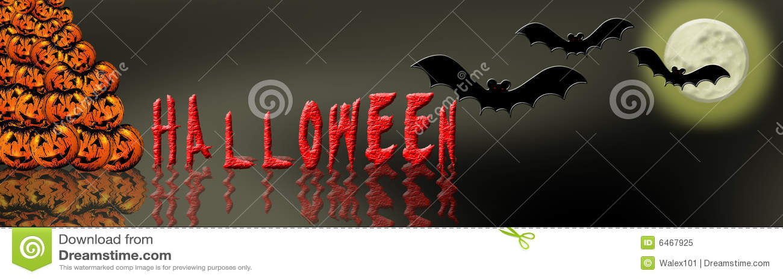 7 banner Halloween.