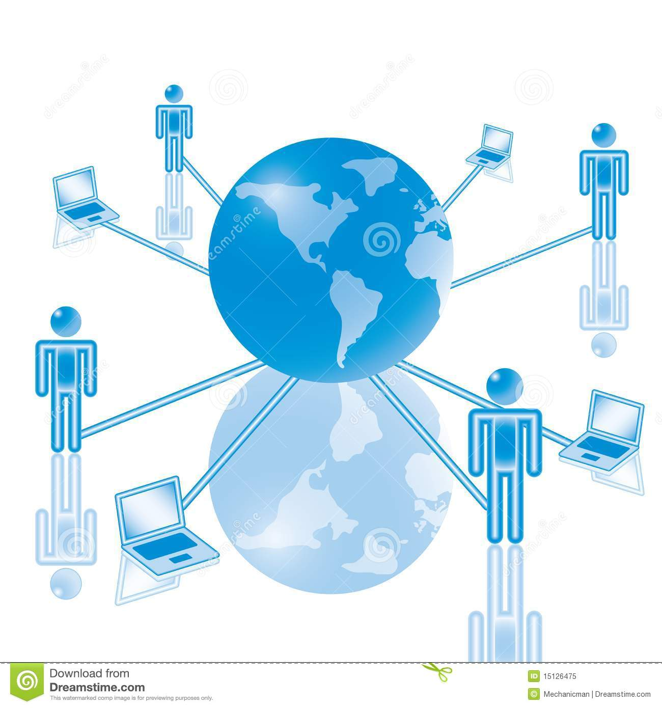 7 global computer network in blue stock vector illustration of royalty free stock photo publicscrutiny Images