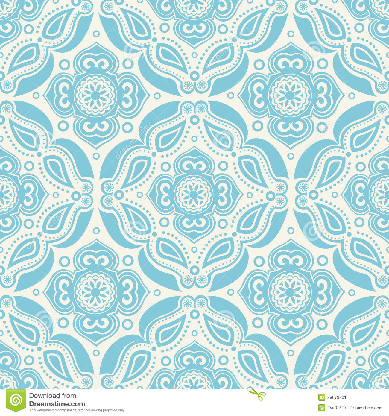 70s Wallpaper Pattern Stock Vector Image Of Color