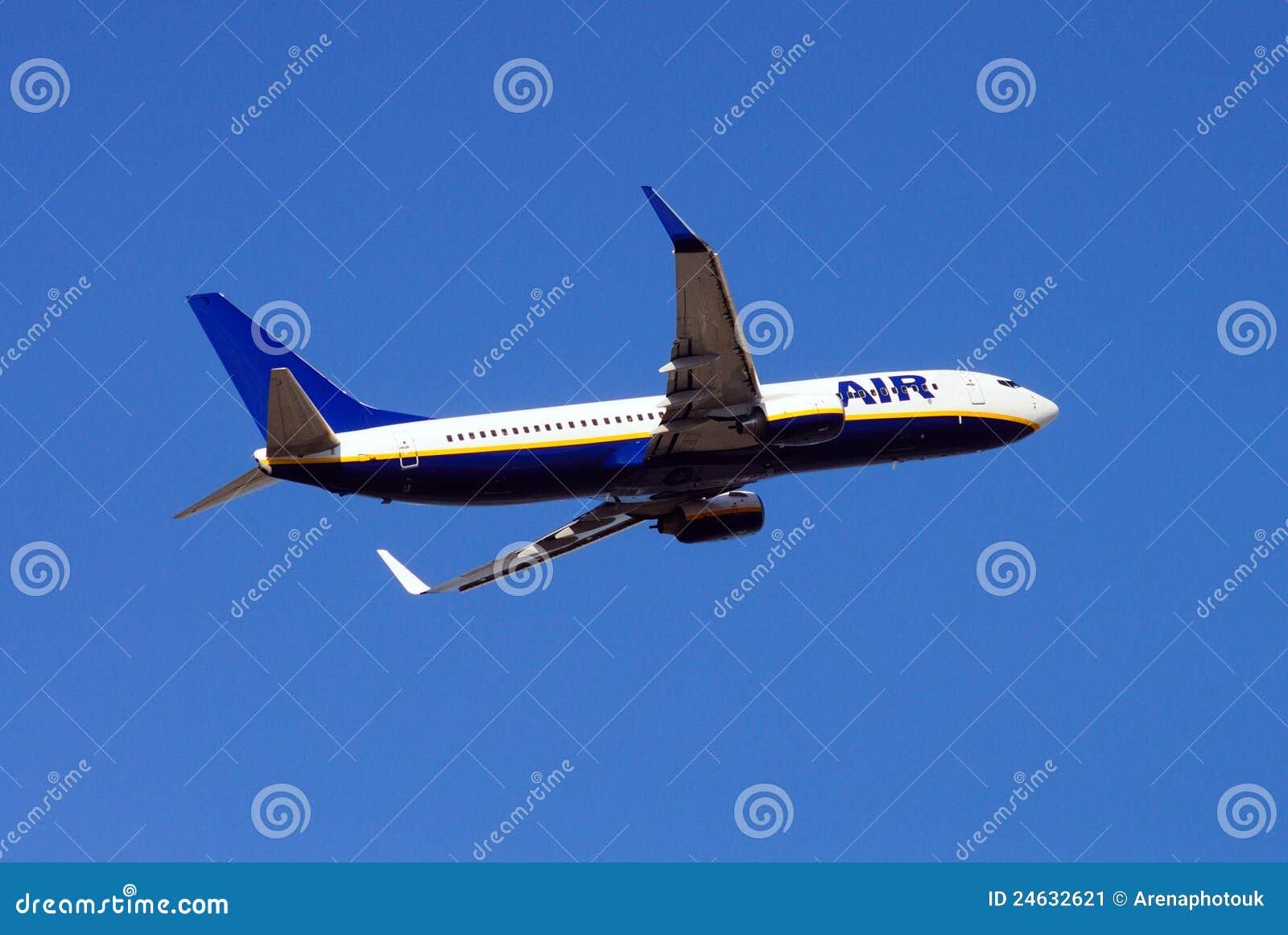 737 800飞机波音 库存图片