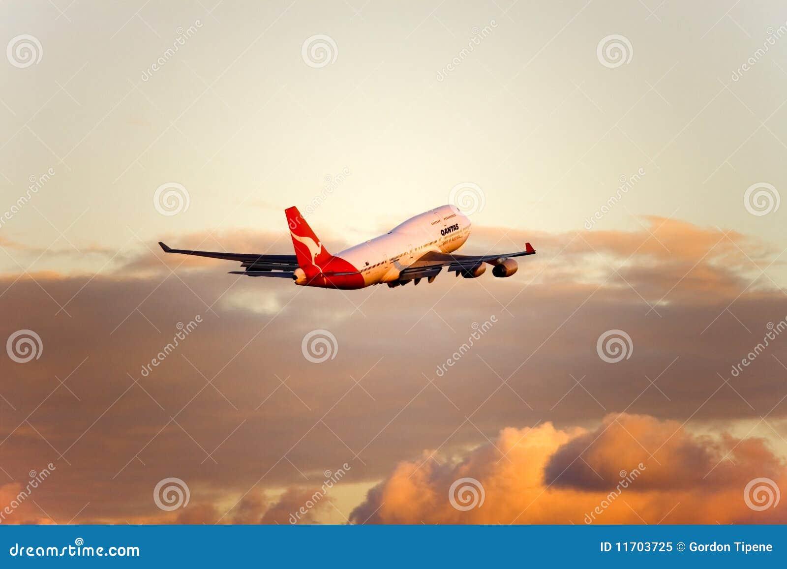 747 Boeing lota strumienia qantas