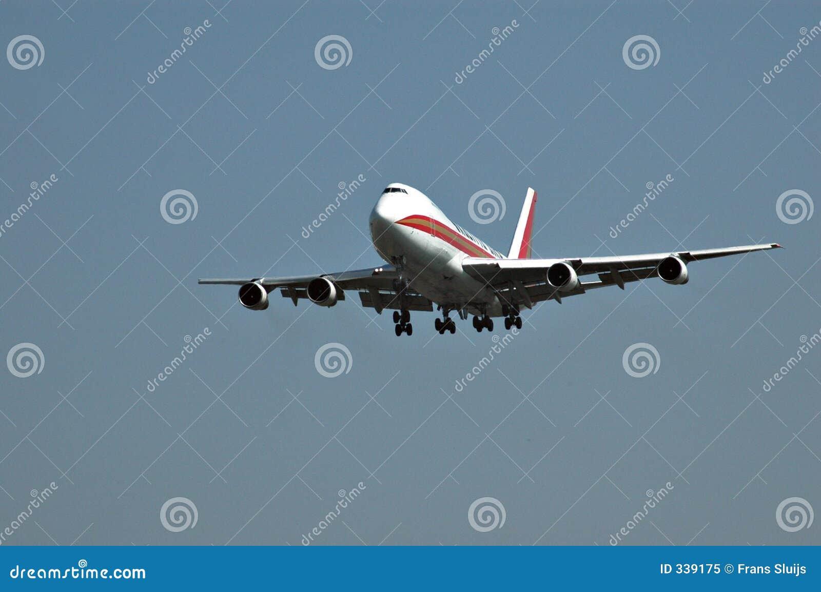 747 para a aterragem