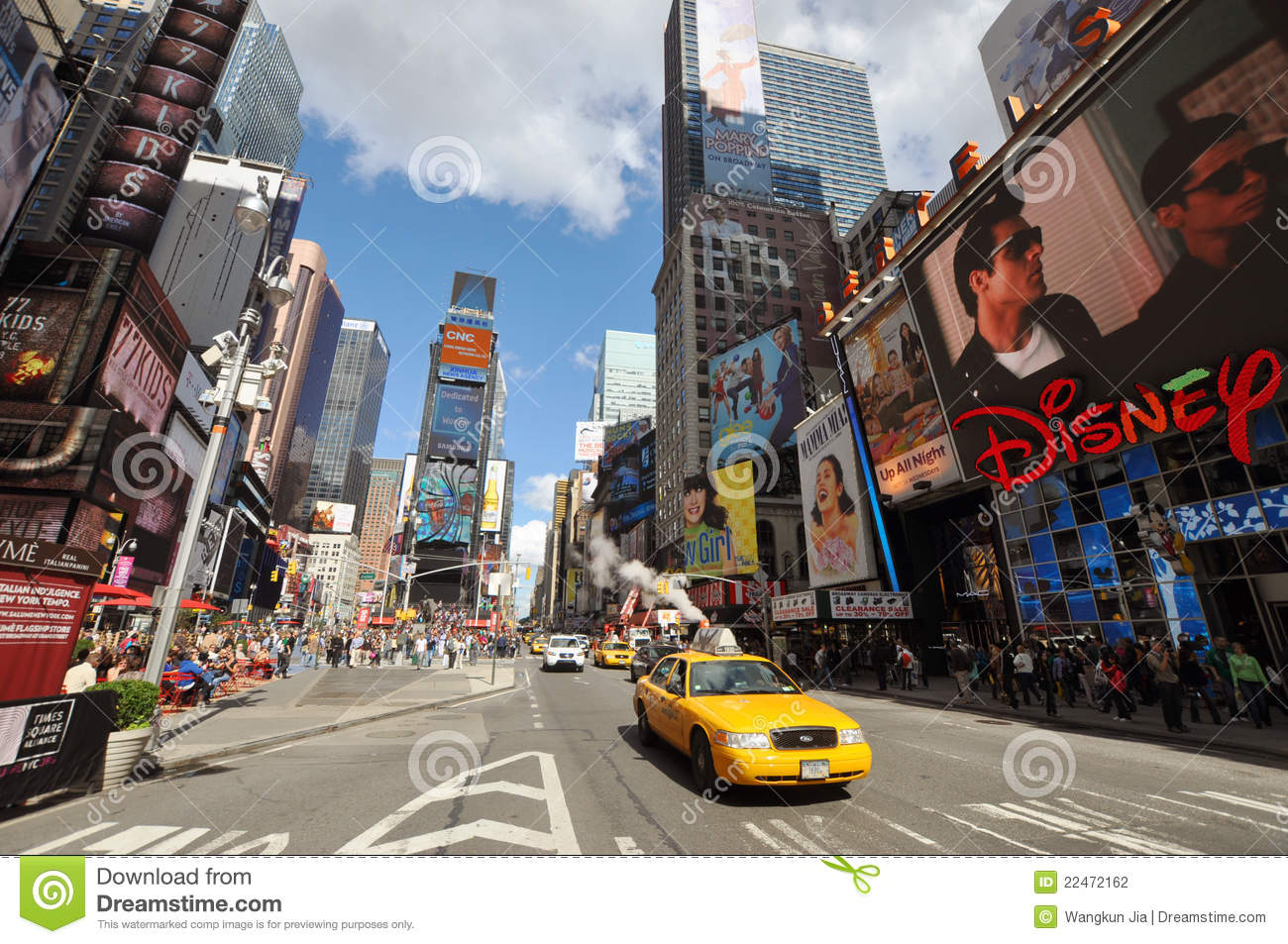 7th Ave and Times Square, New York City