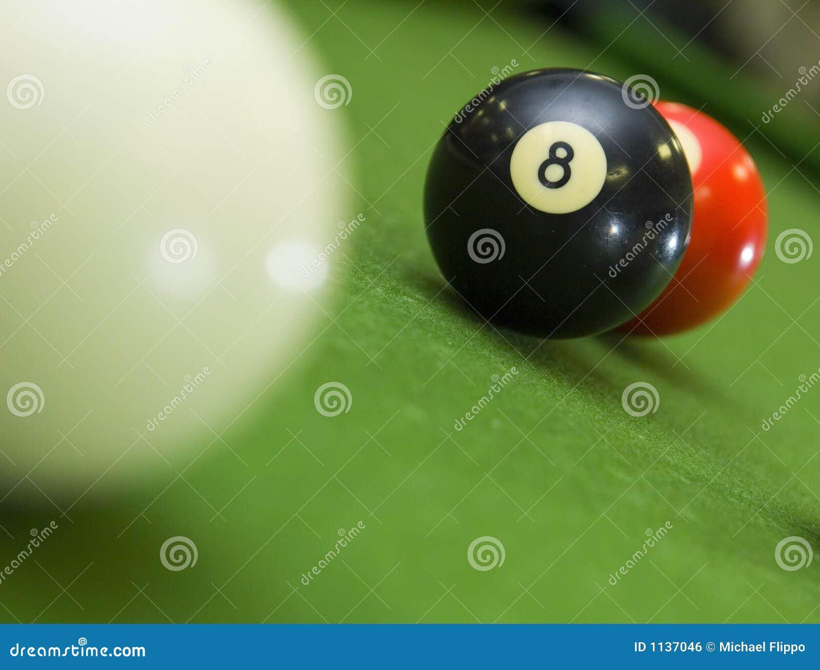 8在卡住之后的球