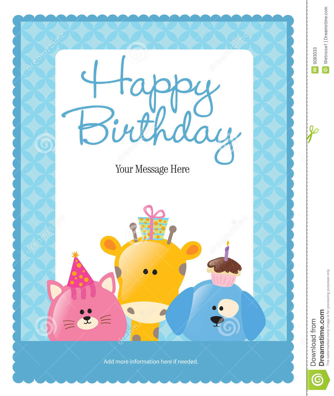 8 5x11 poster design - 8 5x11 Birthday Flyer Poster Template Stock Photos