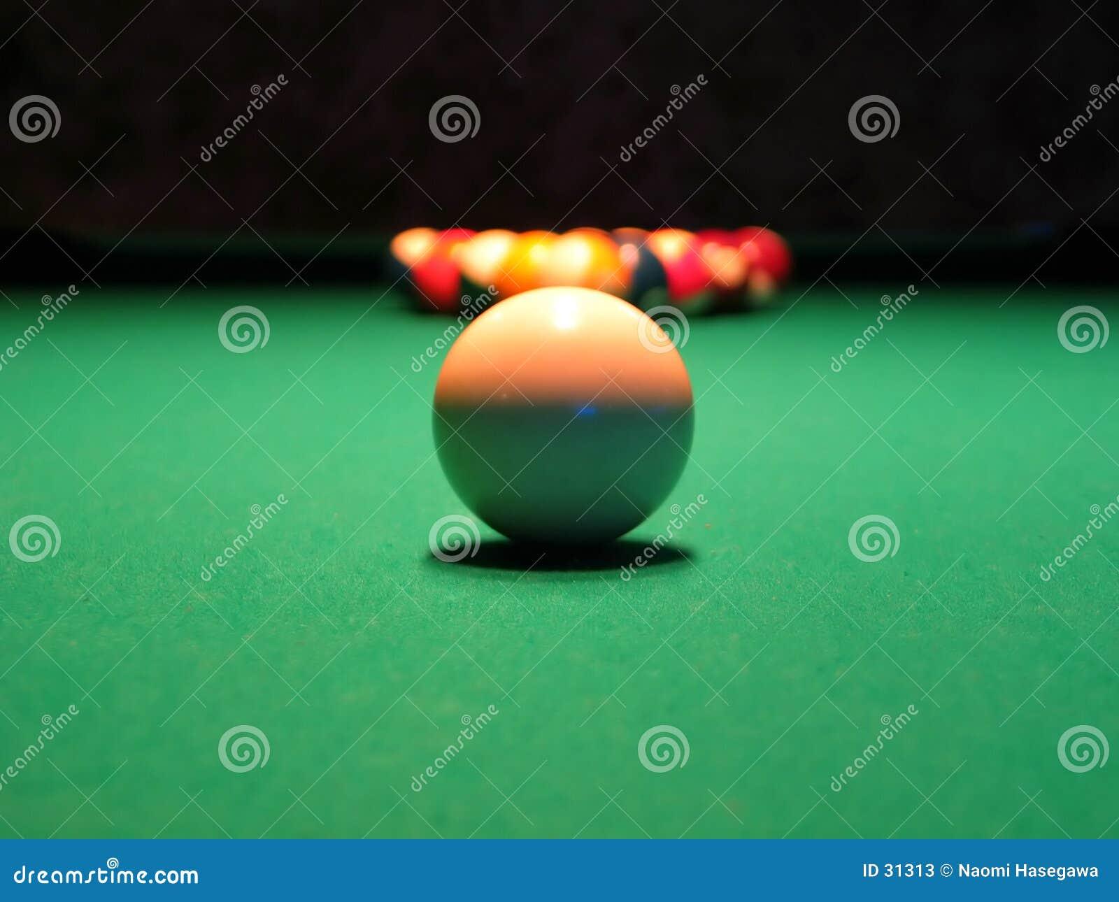 Download 8 bal (Pool) stock afbeelding. Afbeelding bestaande uit sport - 31313