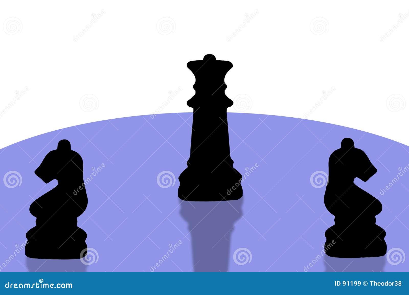 8 kawałków szachowych