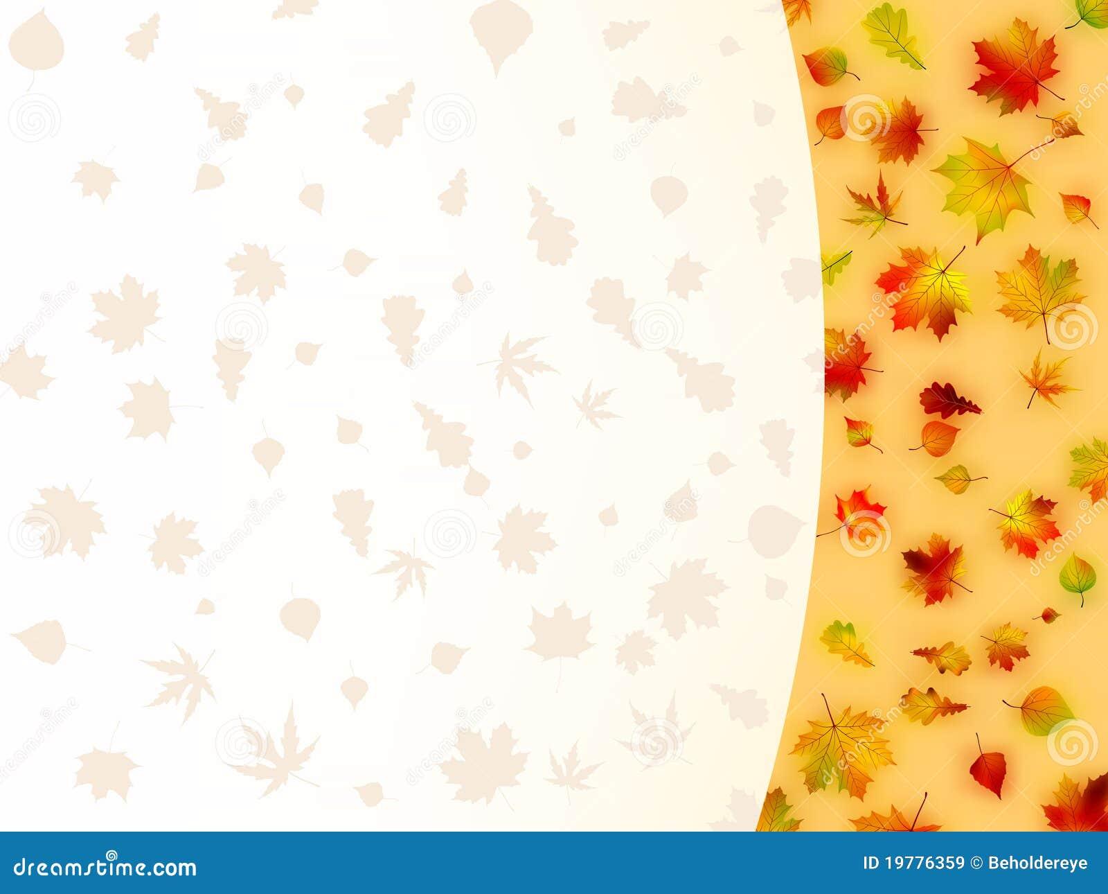 8 leaves för eps för höstkort färgrika