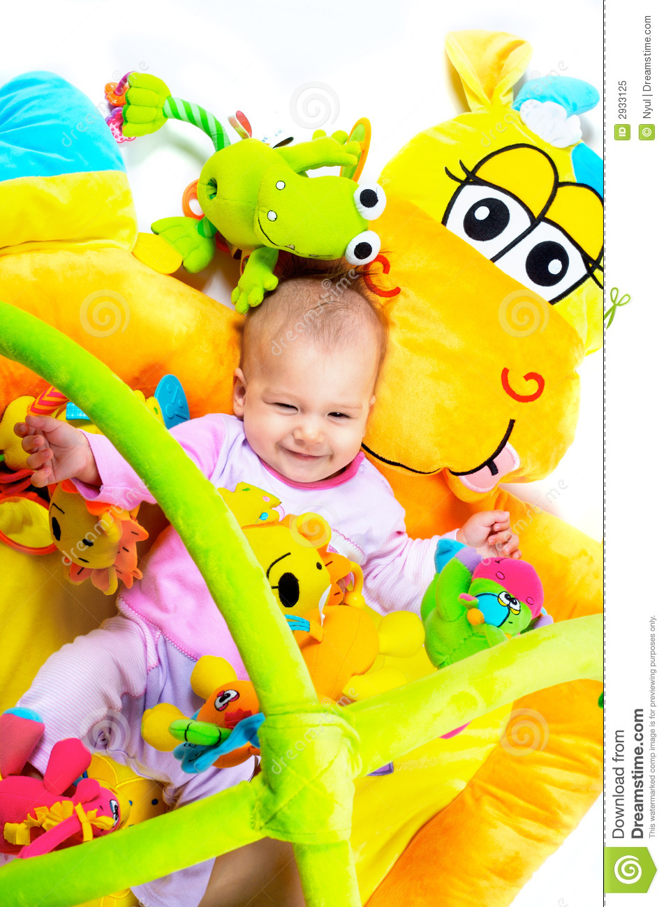 8 Months Old Baby Stock Image Image Of Daughter Copy 2933125
