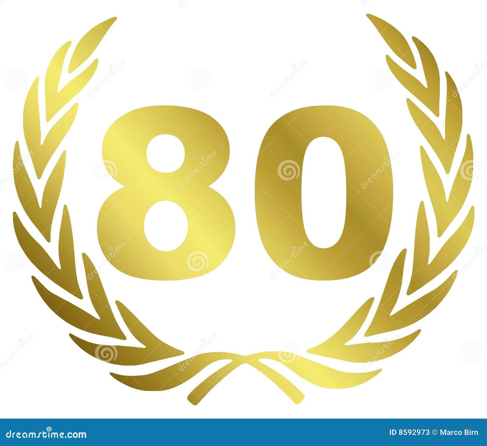 80 verjaardag