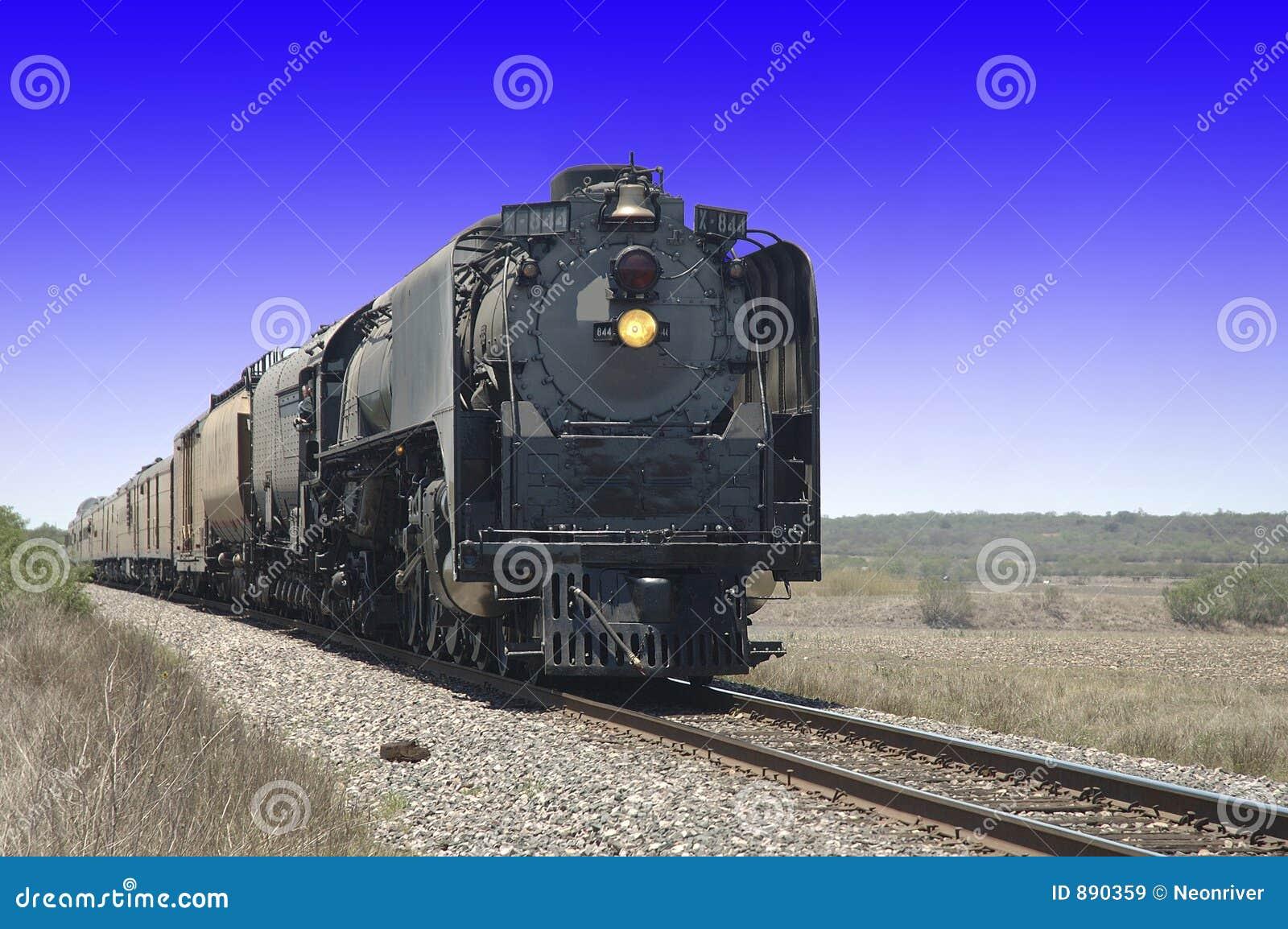 844 silników parostatku pociąg