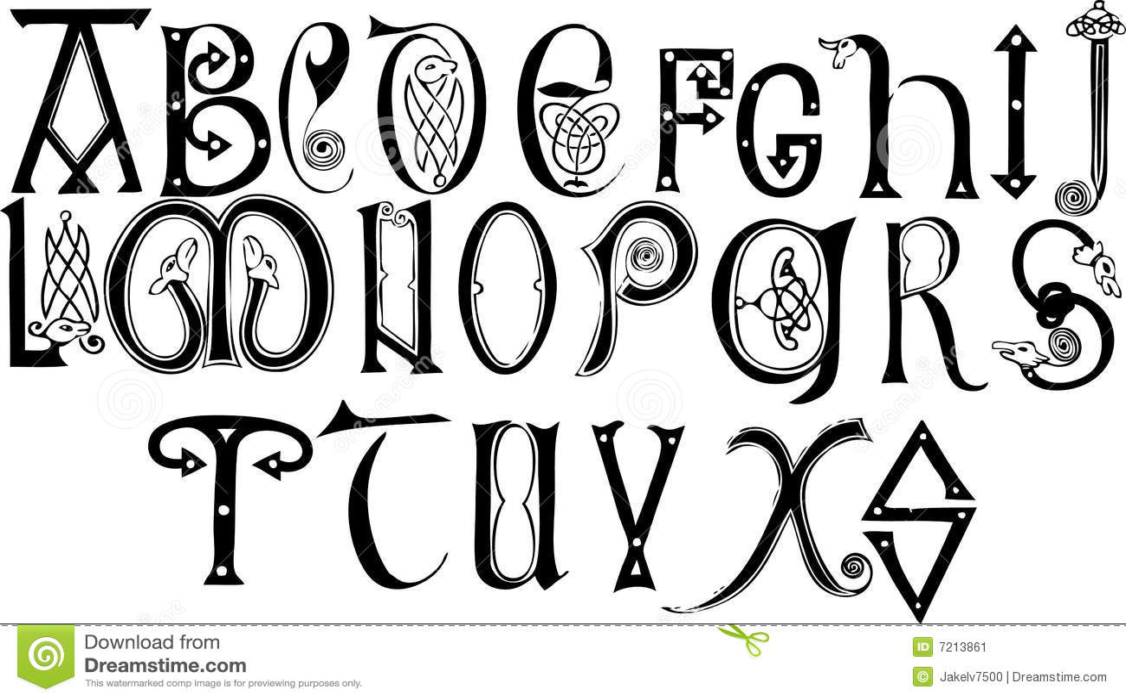 Anglo-Saxon Alphabet