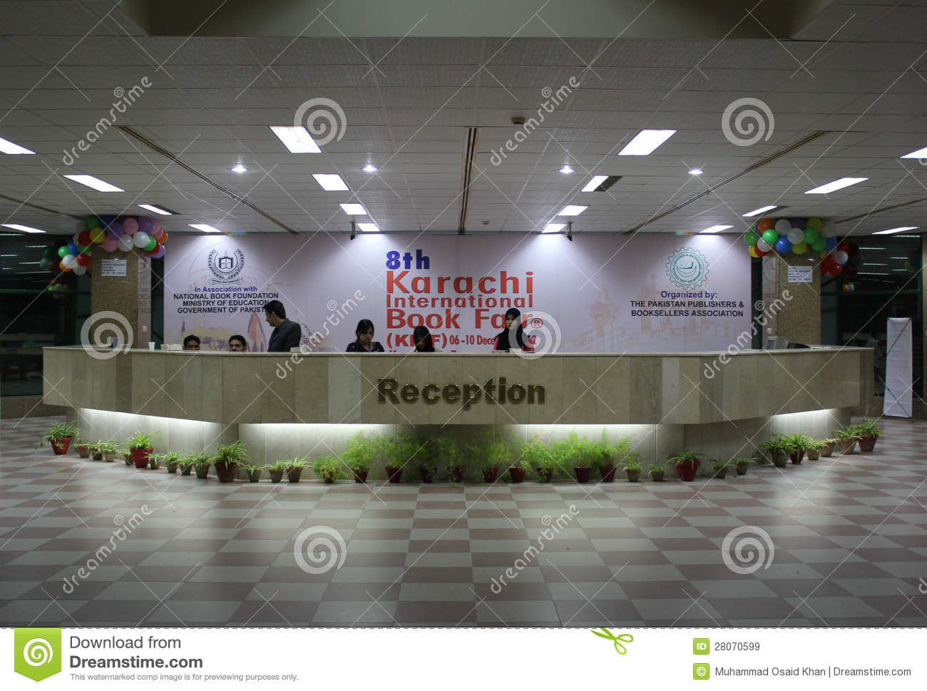 Exhibition Stall Designers In Karachi : 8th karachi international book fair editorial stock image image of