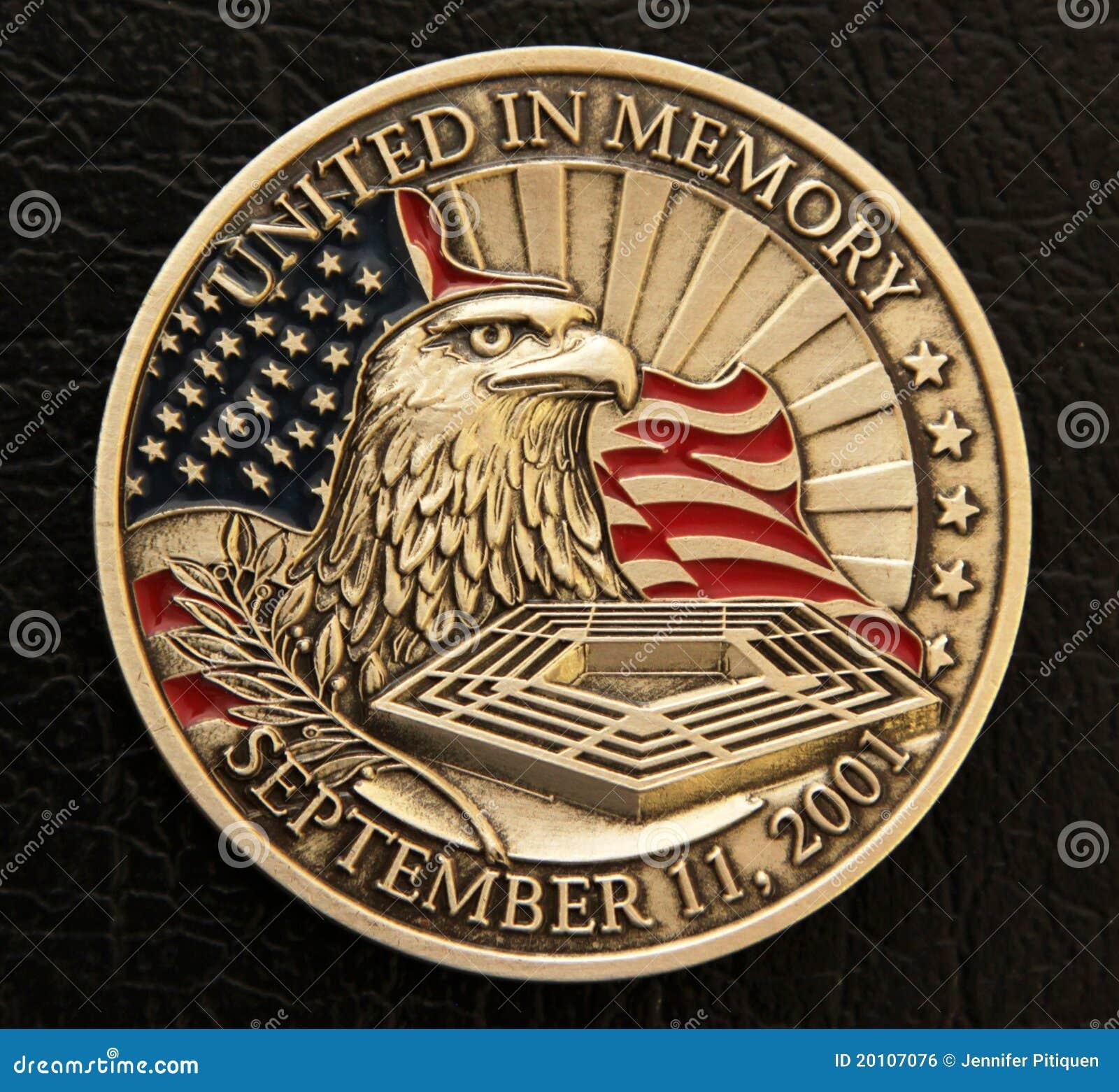 9/11 Erinnerungsmünze