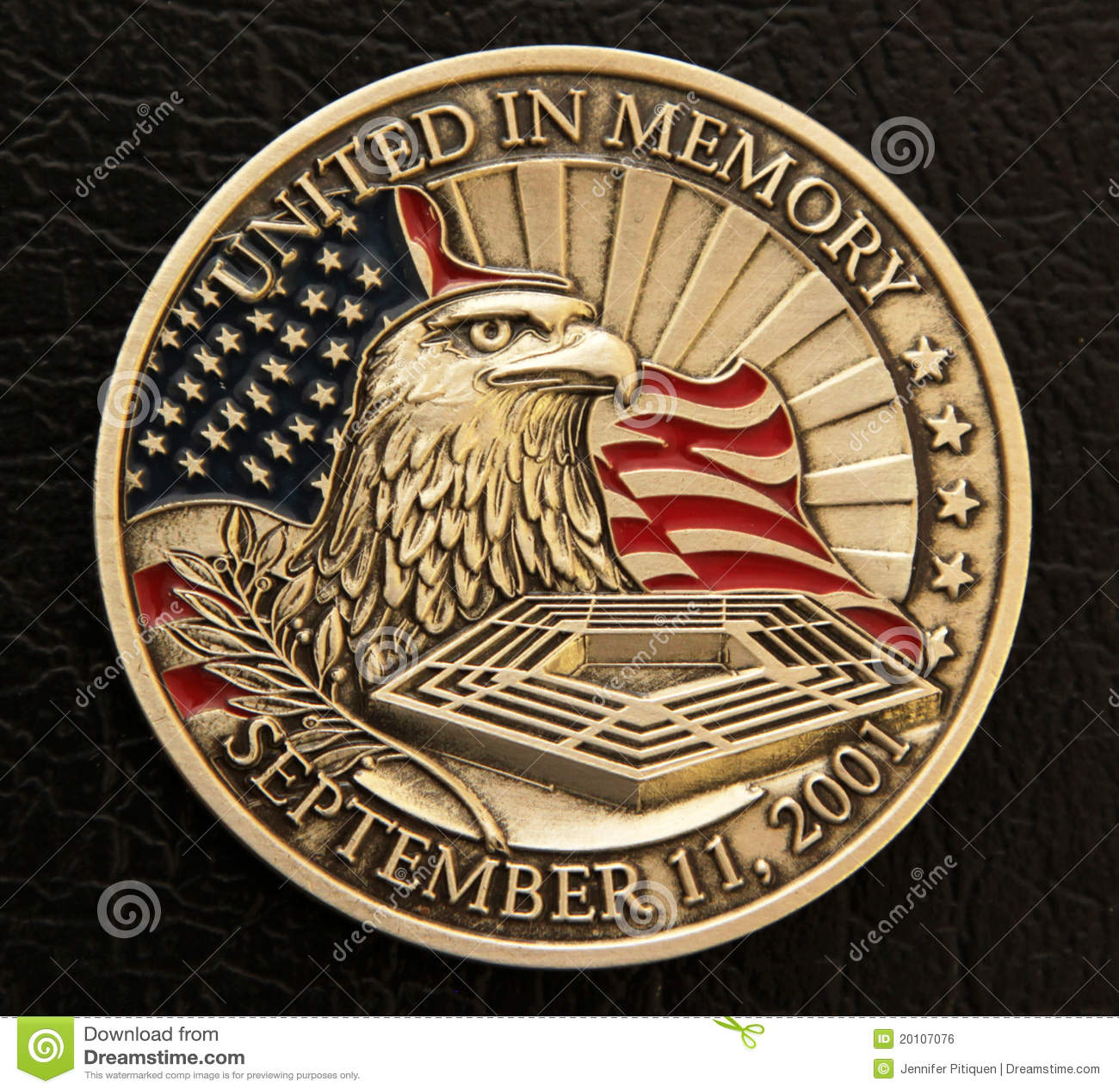 9/11 HerdenkingsMuntstuk