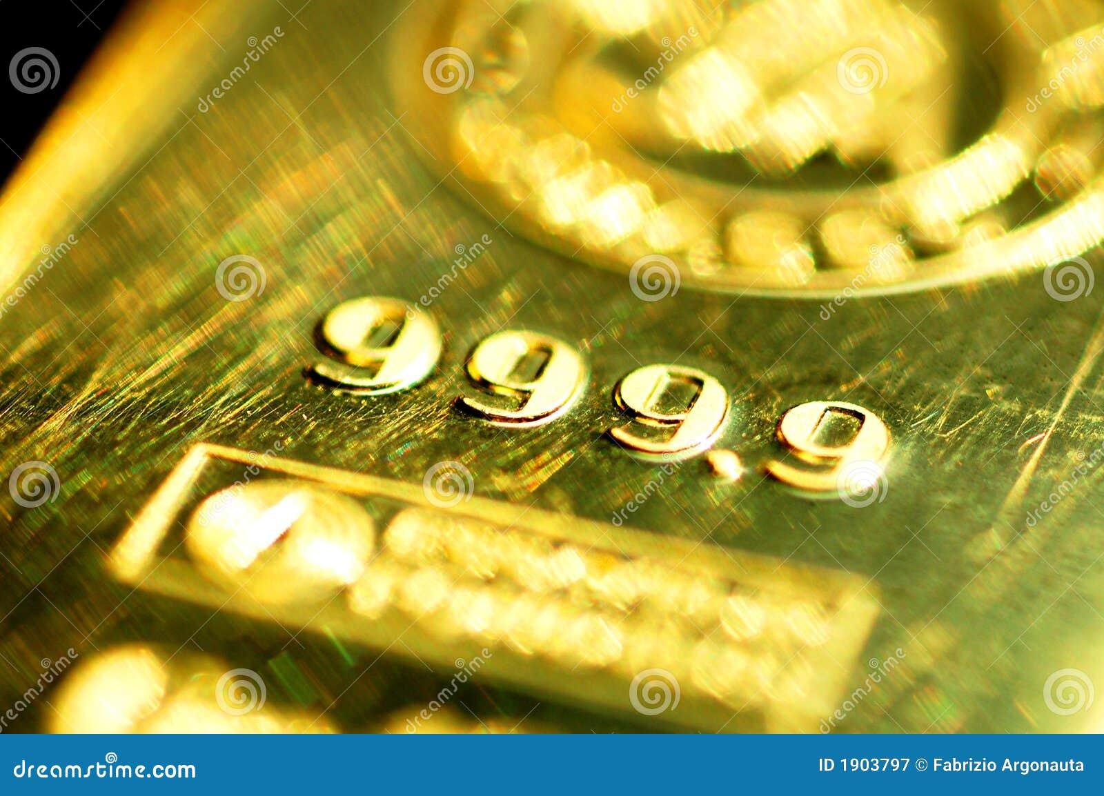 9 999 bar den rena guldtackan