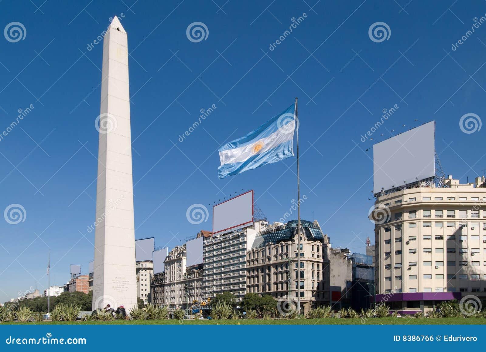 9 aires Alei Buenos De Julio obelisk