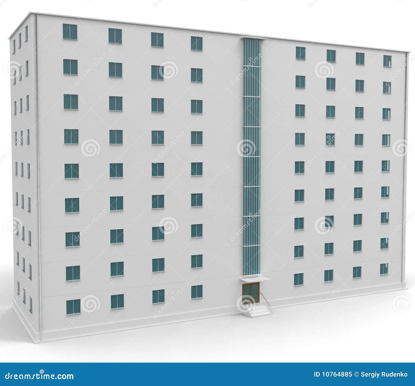 9 finestre bianche del livello blu della casa con for Finestre bianche