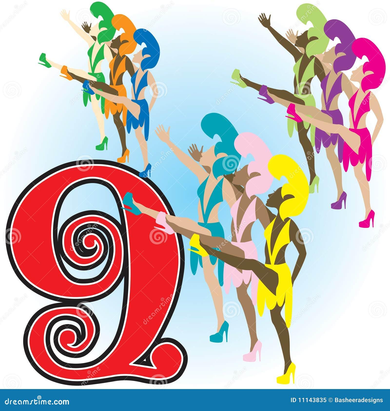 9 ladies dancing royalty free stock photo image 11143835 12 days of christmas clipart free 12 days of christmas clipart free