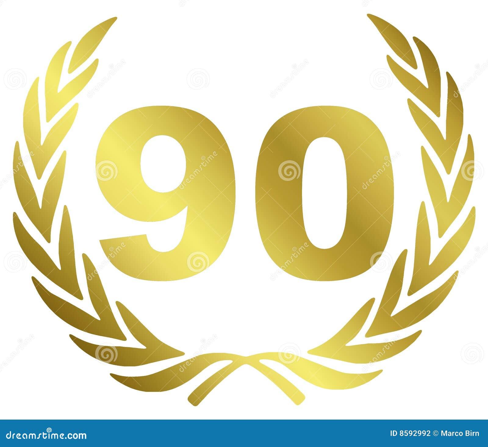 90 verjaardag