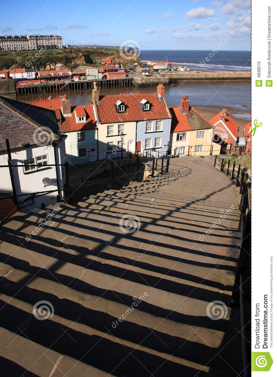 99 steps at Whitby