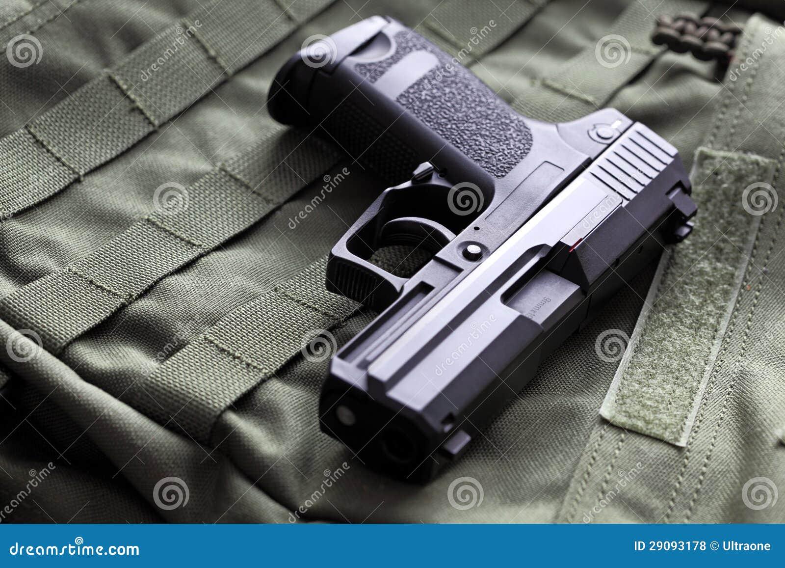 9mm半自动手枪
