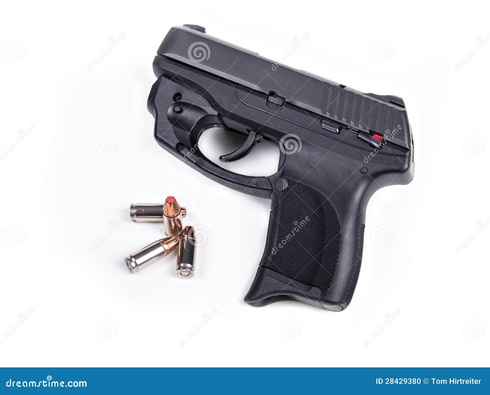 9mm手枪&项目符号