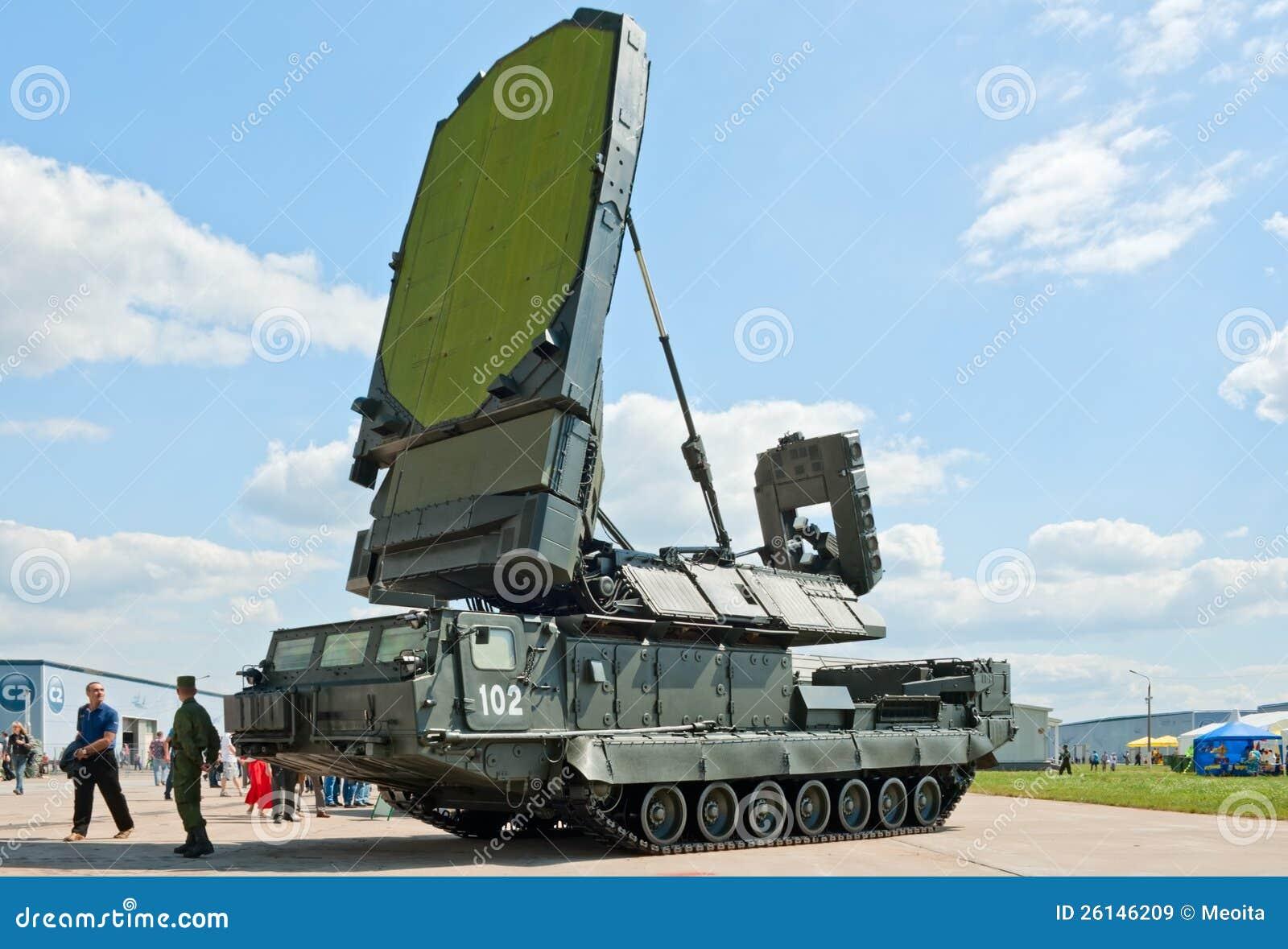 9s19 Imbir Radar Vehicle Editorial Stock Image Image Of