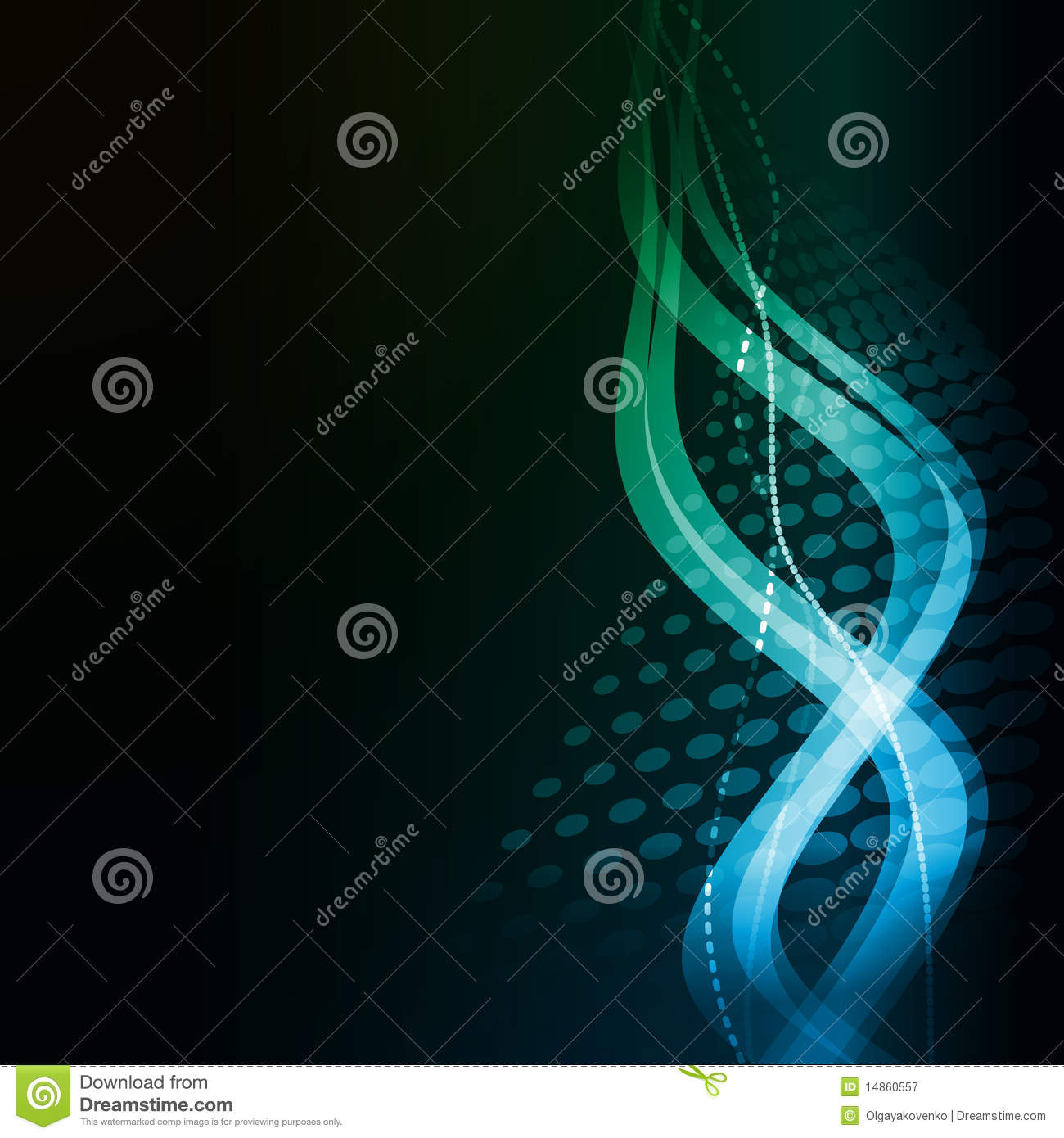 Abstract background - bands