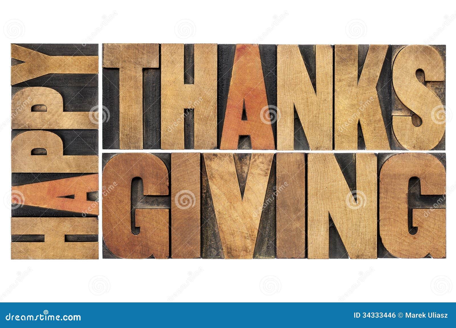 Ação de graças feliz