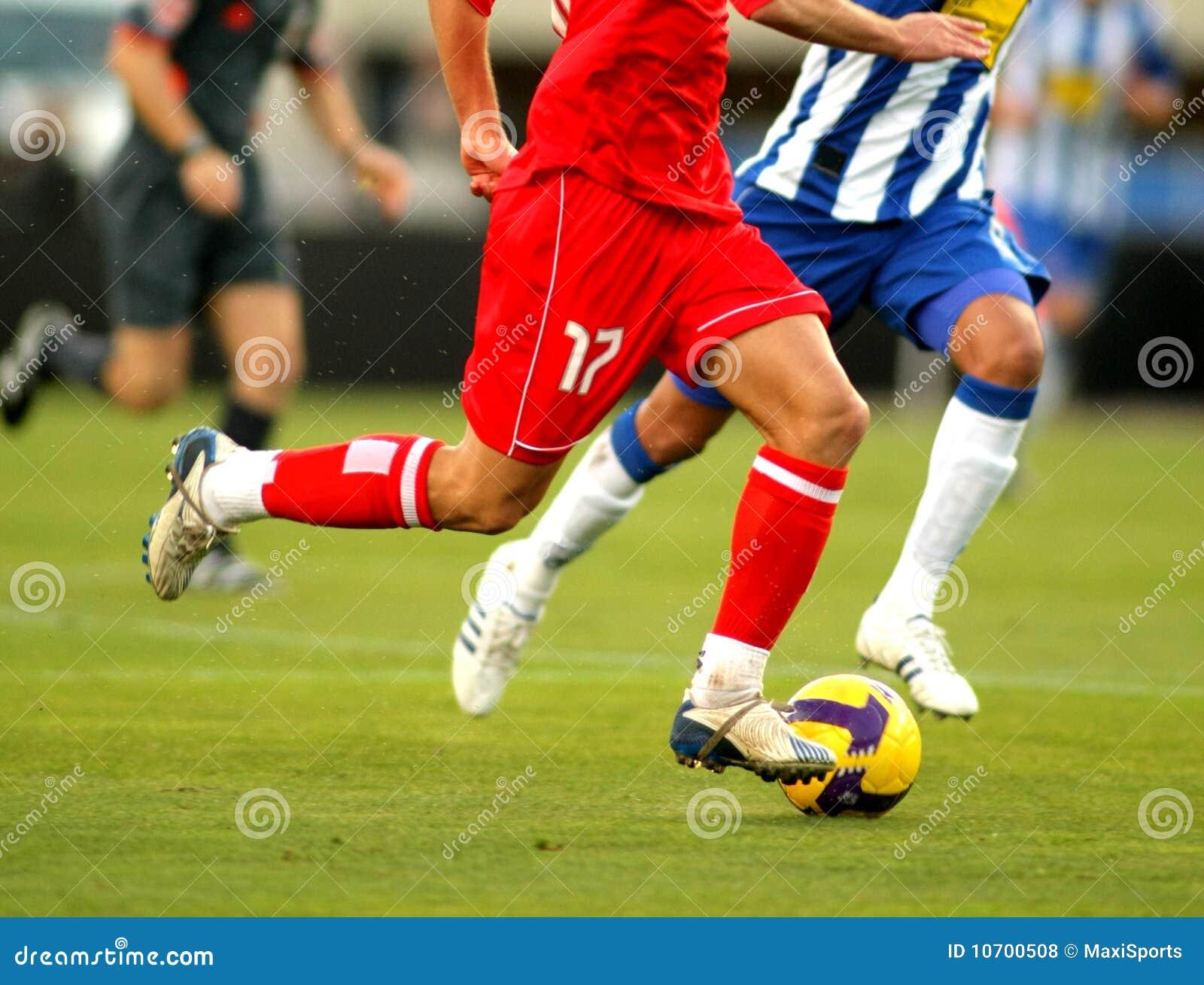 Ação do futebol
