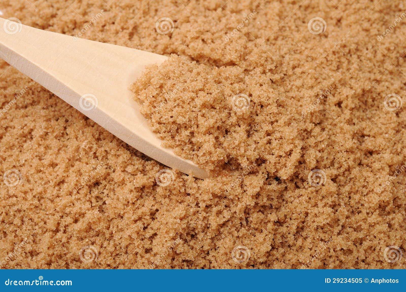 Download Açúcar do cristal de Brown imagem de stock. Imagem de sacáridos - 29234505