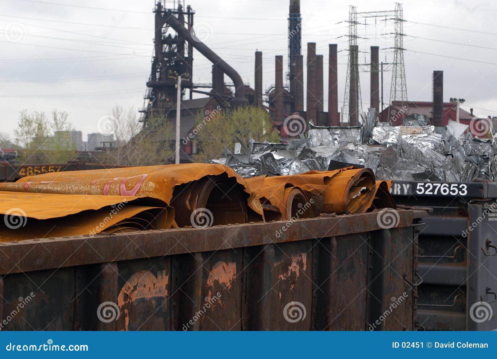 Aço oxidado