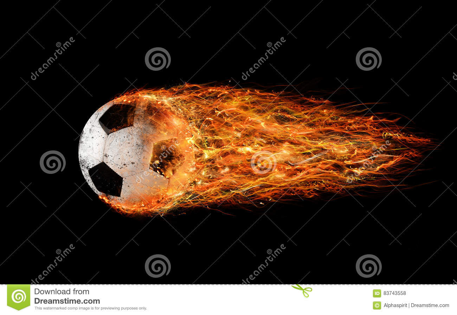 Aérolithe du football