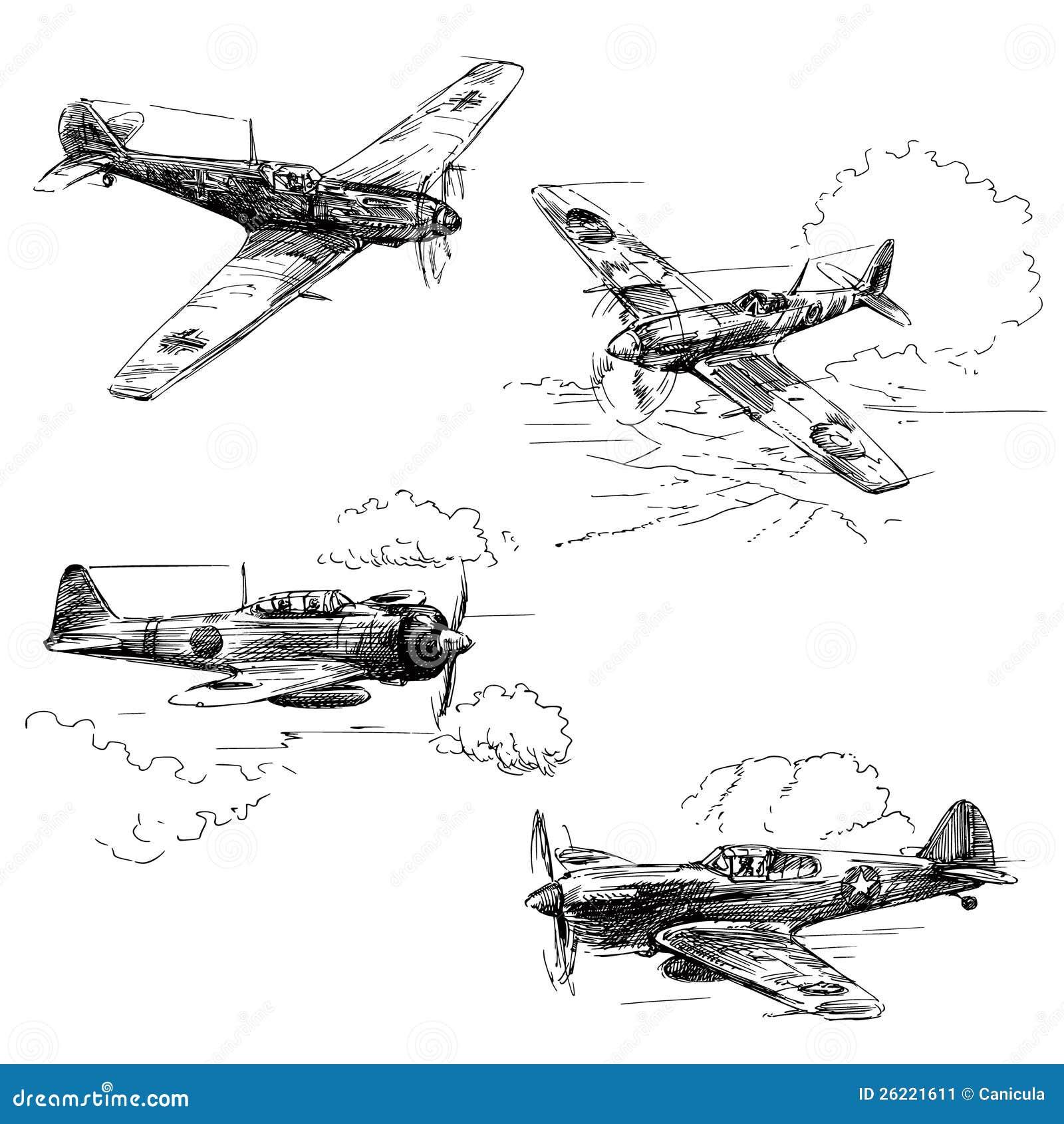 Aéronefs de la guerre mondiale 2