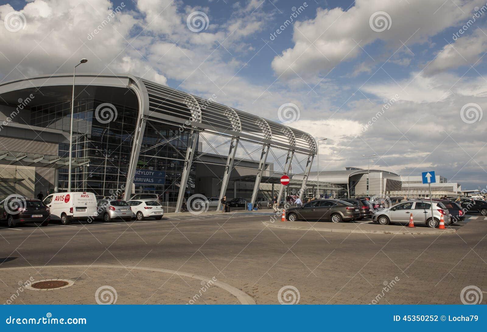 Aéroport à Poznan, Pologne